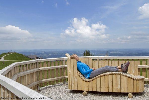 Ammergauer Alpen Sommerbild