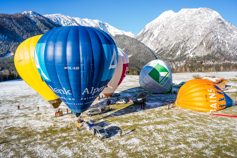 Achensee Ballontage Start Achenkirch ©Achensee Tourismus