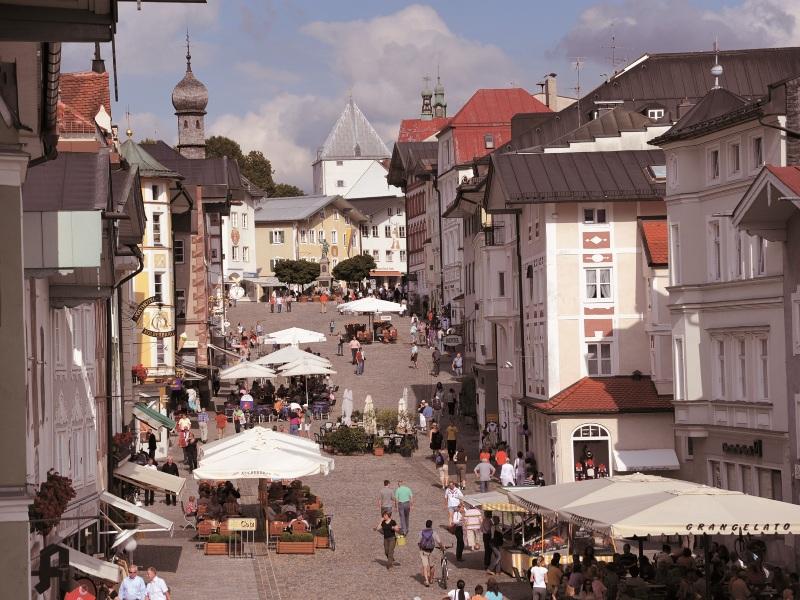 Die historische Marktstraße Bad Toelz