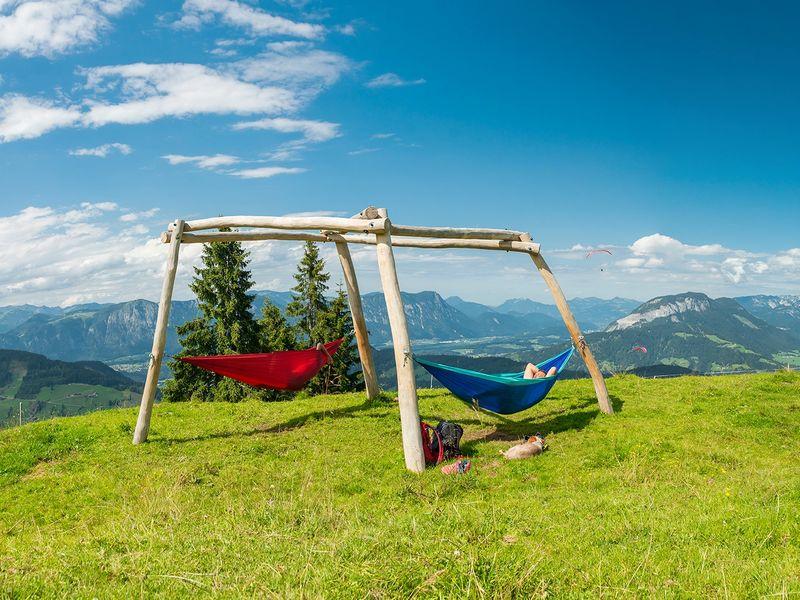 Hängematte Wildschönau Hängemattenpark ausflug Entspannung
