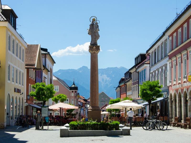 Murnau Fußgängerzone Ausflugsziel Familie Wandern Nachhaltig