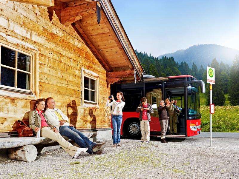 Bus Wildcshönau Wandern Nachhaltig
