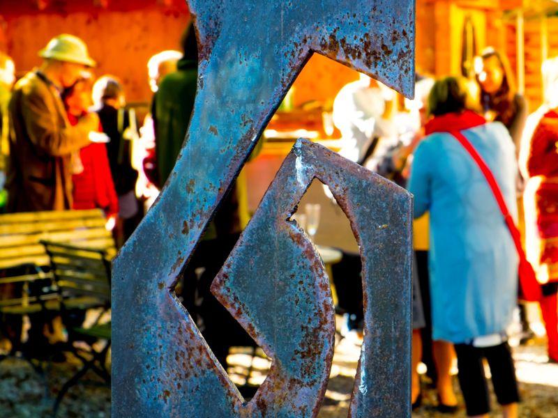 Stele, Kunst, Kunstwirte, Marc Völker, Murnau