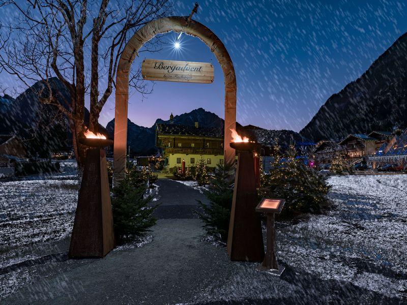 Advent Fischergut Achensee Winter