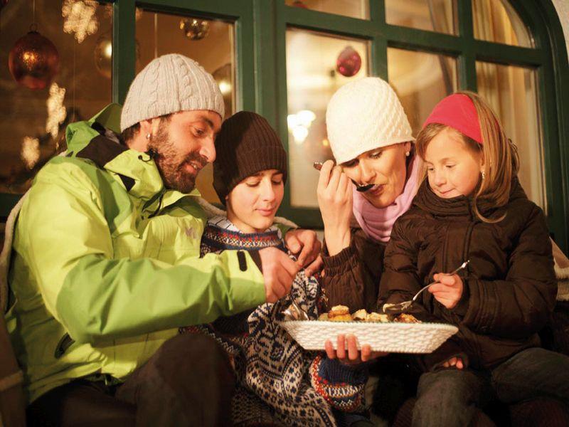 Familie Advent Pitztal Weihnachten
