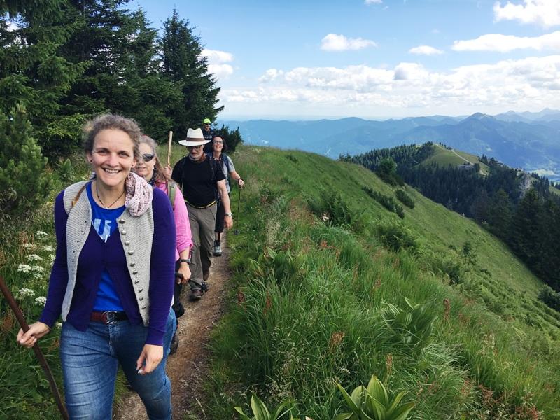 Jodeln Lenggries Jodelfest Jodelwanderung Wandern