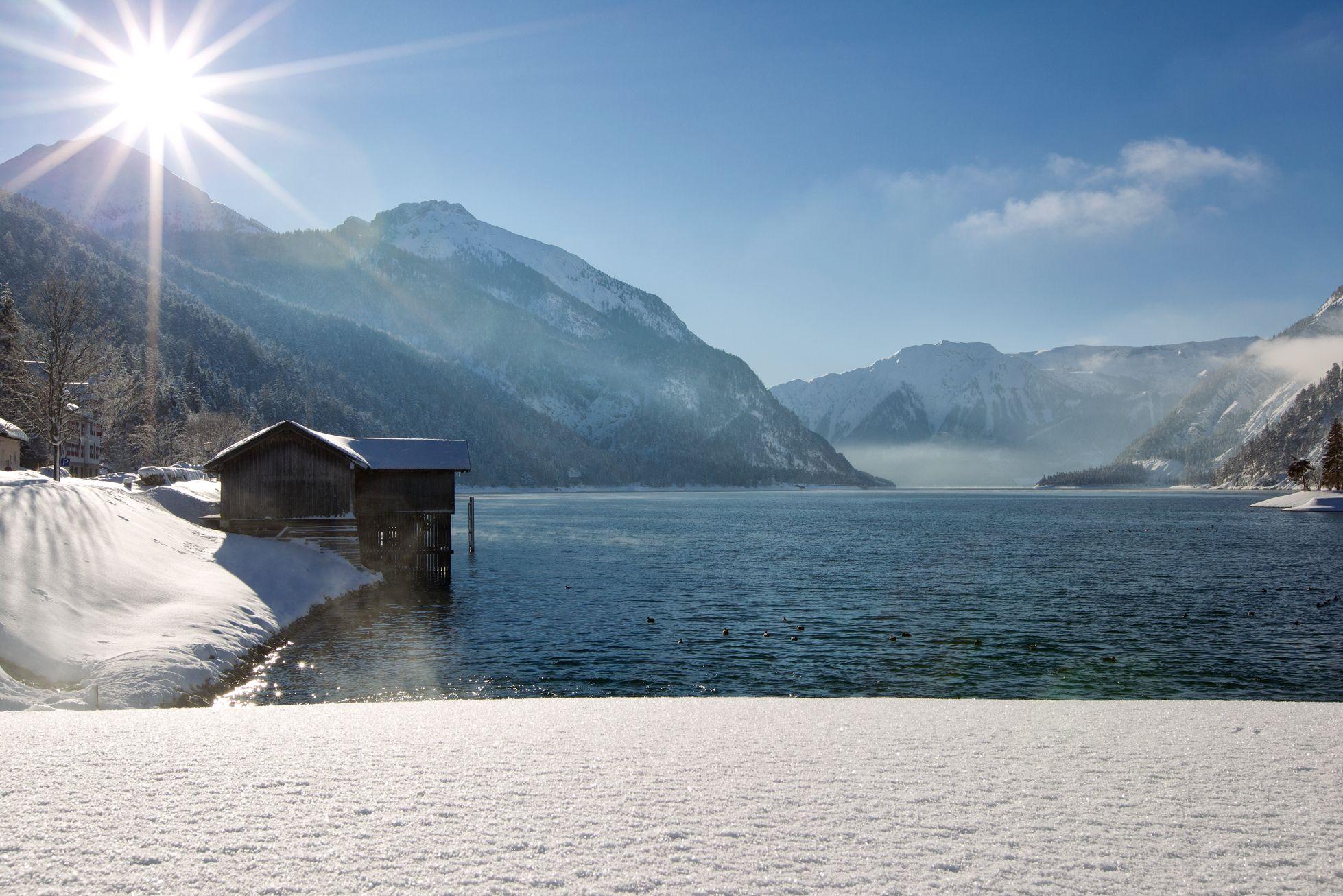 Achensee Winter Schnee