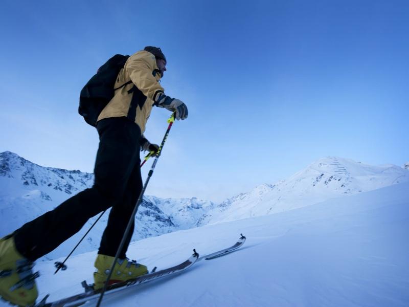 skitourenpark Pitztal Ski Winter Alpen