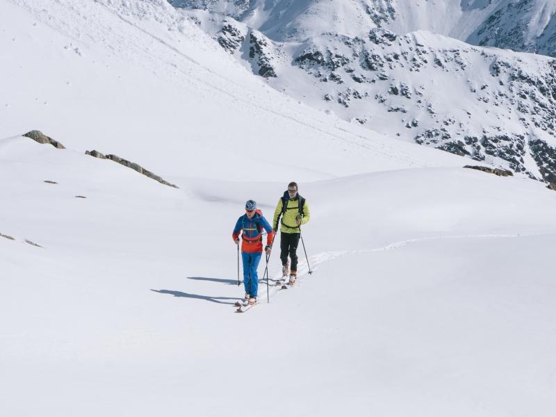 Schnee Skitour Skitourenpark Pitztal Neueröffnung
