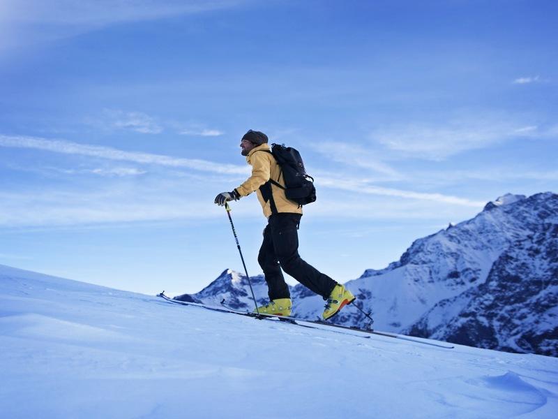Einsteigerkurs Skitourenpark Pitztal Winter Ski Wintersport Alpen