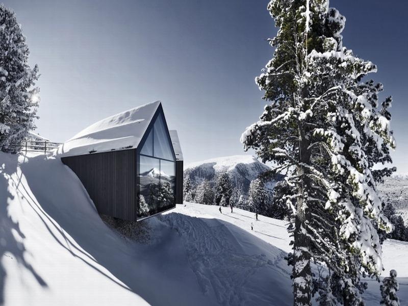 Berghütte Eggental Obereggen Ski Saison Eröffnung