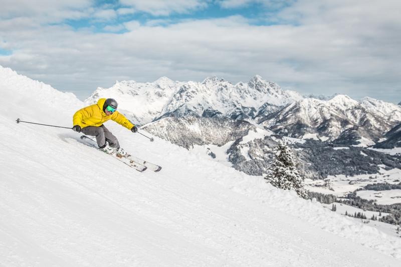 Kitzbüheler Alpen, Skisafari, Skiwelt Wilder Kaiser - Brixental, KitzSki, SkiStar in St. Johann in Tirol, Skicircus Saalbach Hinterglemm, Schneesicherheit, Schneemanagement, Pistenqualität, 2750 Pistenkilometer