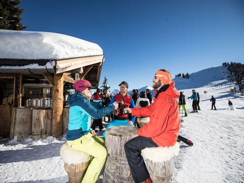 Ski Opening Einschwingen Wildschönau Schatzberg