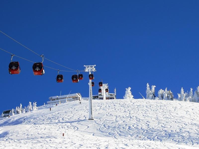 Choralmbahn skifahren kitzbüheler Alpen schneesicher