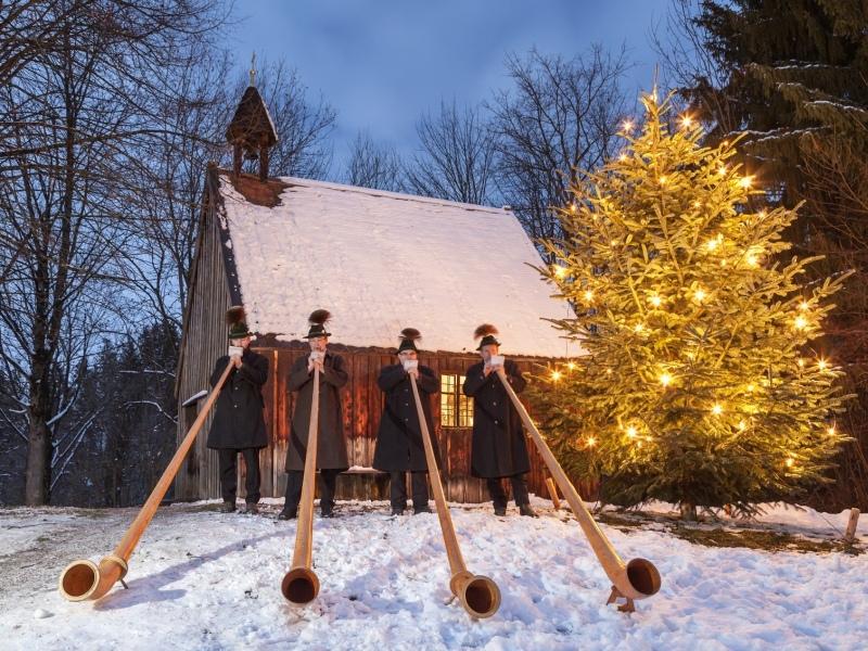 Christkindlmarkt auf der Glentleiten 2013 Zugspitz Region Winter Adventszeit Weihnachten Weihnachtsmarkt