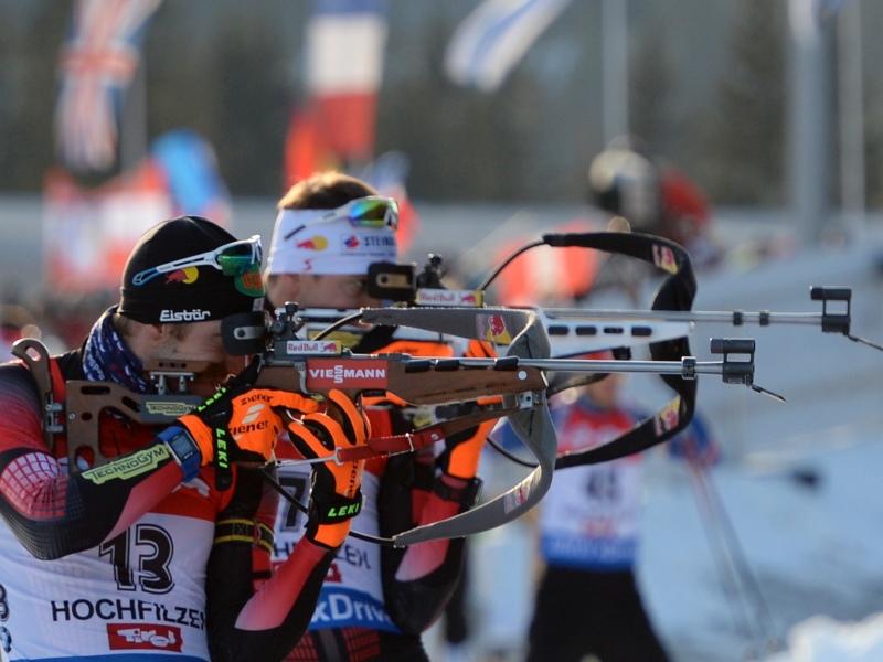 12.12.2015 - Verfolgung Herren Weltcup Biathlon Hochfilzen