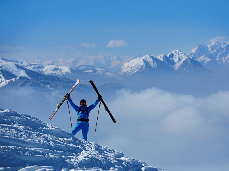 Skifahren Kitzbüheler Alpen Skisafari