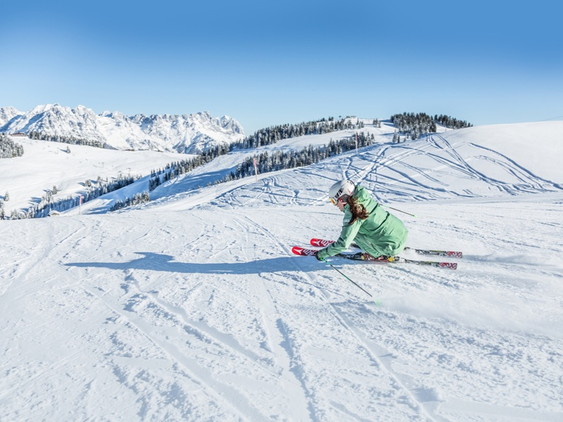 Kitzbüheler Alpen Skifahren Pulverschnee Skisafari
