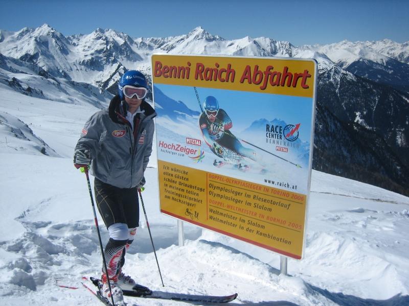 Benni Raich Skifahren Hochzeiger Pitztal