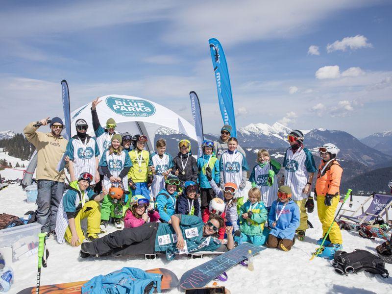 Blue Kids Camp, Pillerseetal, Kitzbüheler Alpen, Kalle Ohlsen, Freedrider, Snowboarder