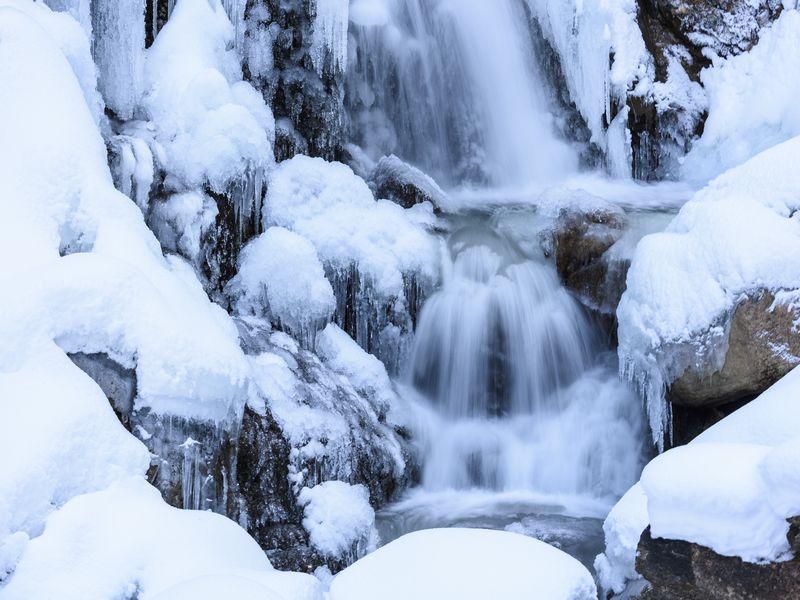 Kuhflichtwasserfälle, ZugspitzLand, Farchant