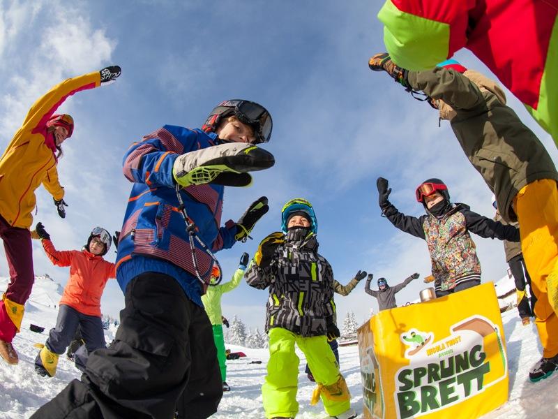 Blue Kids Camp, Pillerseetal, Kitzbüheler Alpen, Kalle Ohlson, Freedrider, Snowboarder