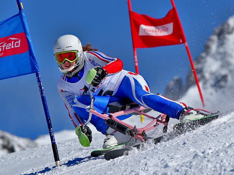 Lenggries, Weltcuphang, Skibob-WM, Snowbike, Skibob-Weltmeisterschaft, Silvia Steininger