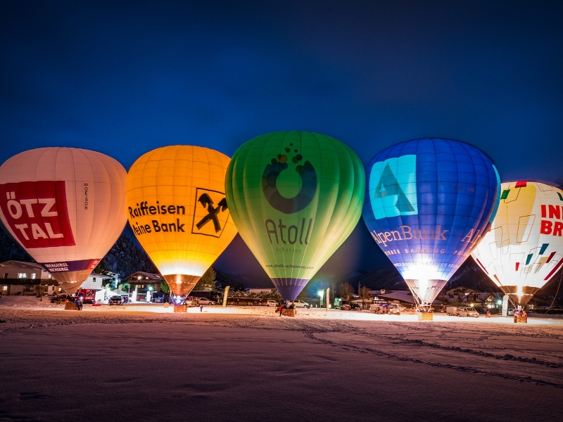 Ballontage, Achensee, Nightglow