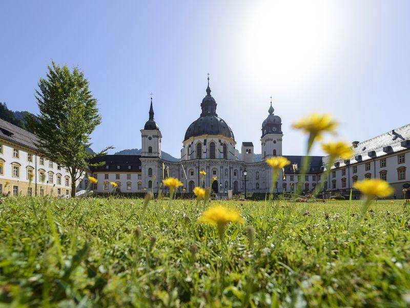Kloster Ettal Ammergauer Alpen Zugspitz Region