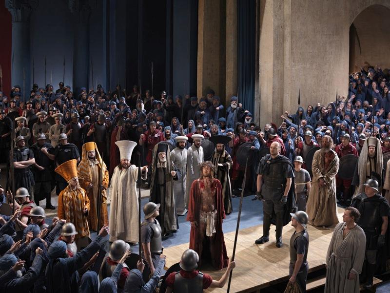 Passionsspiele Oberammergau 2020 Theater Jesus vor Pilatus