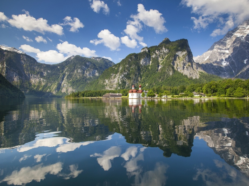 Königssee Berchtesgadener Land Jubiläum Nationalpark