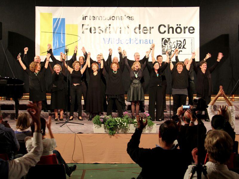 Chor Auftritt Wildschönau Festival