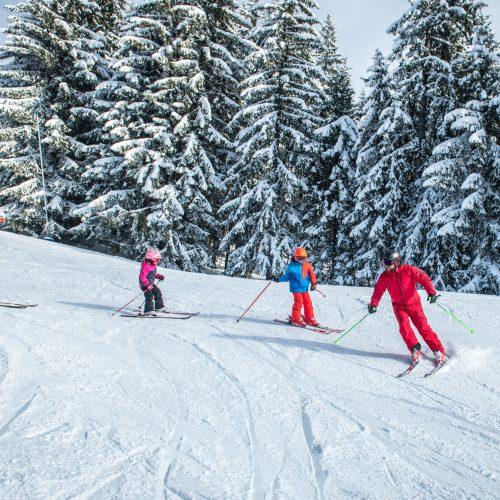 Skifahren mit der ganzen Familie Kitzbüheler Horn