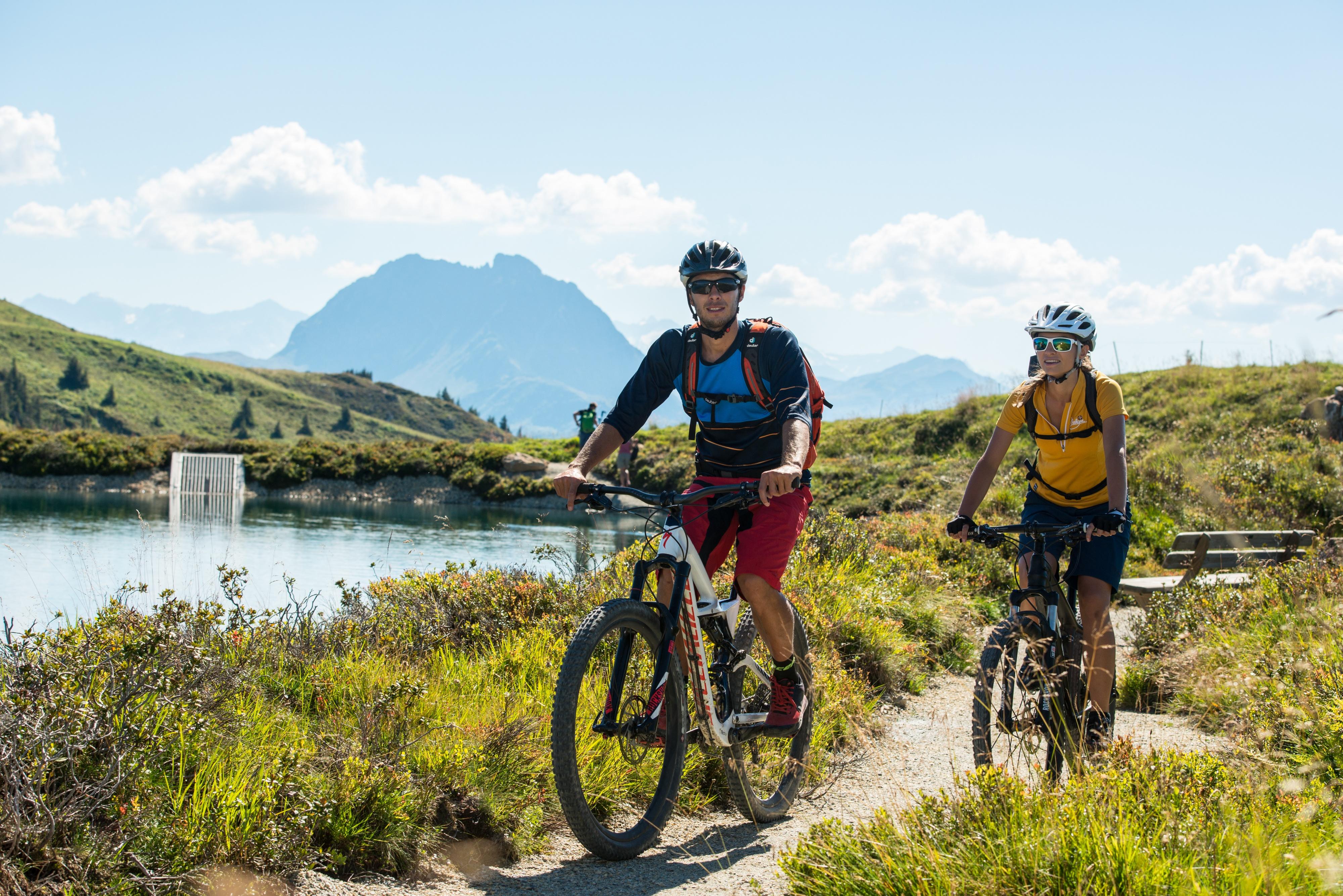 Sommer Fahrrad Tour