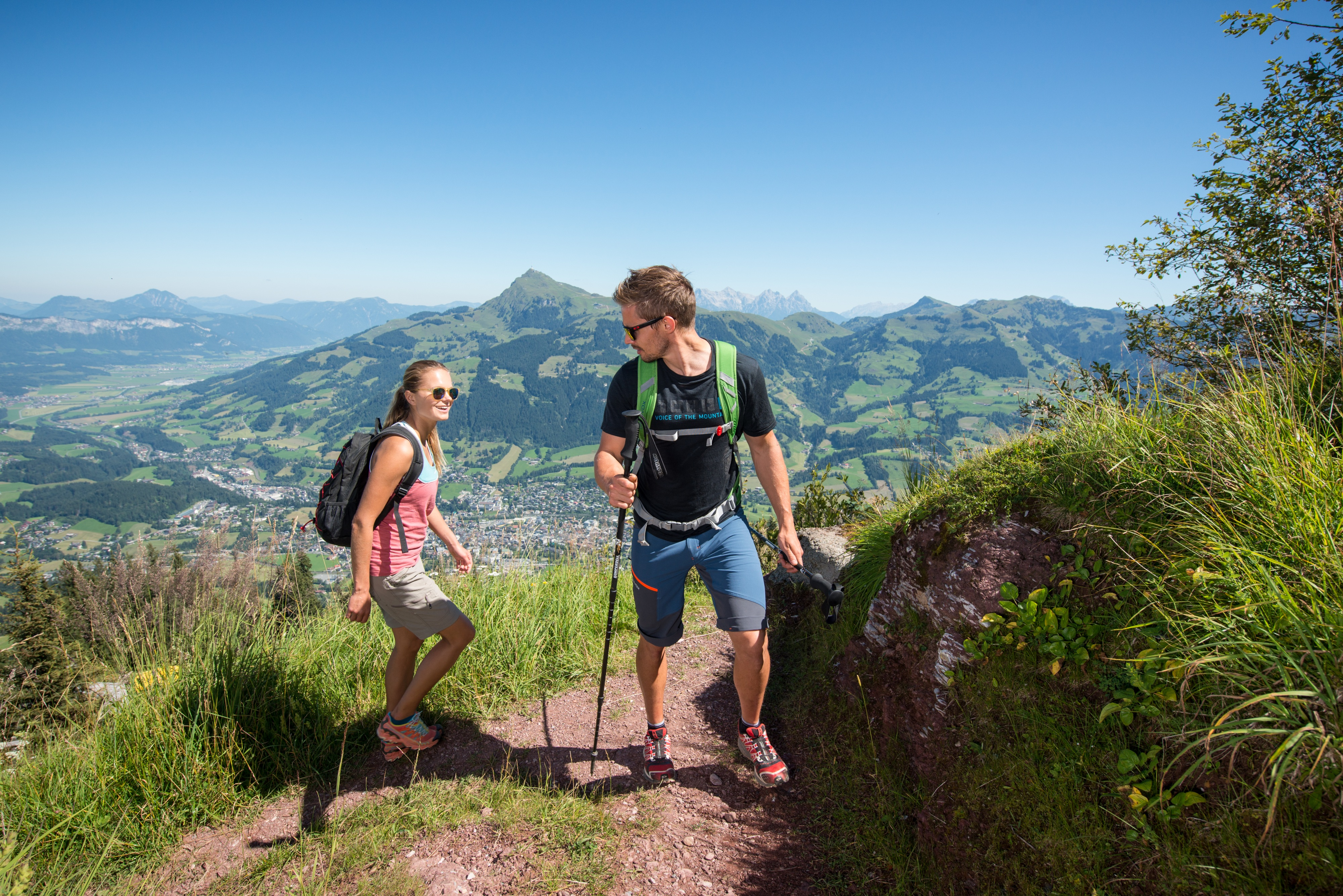 Ausflug Kitzbühel Wanderung Sommer