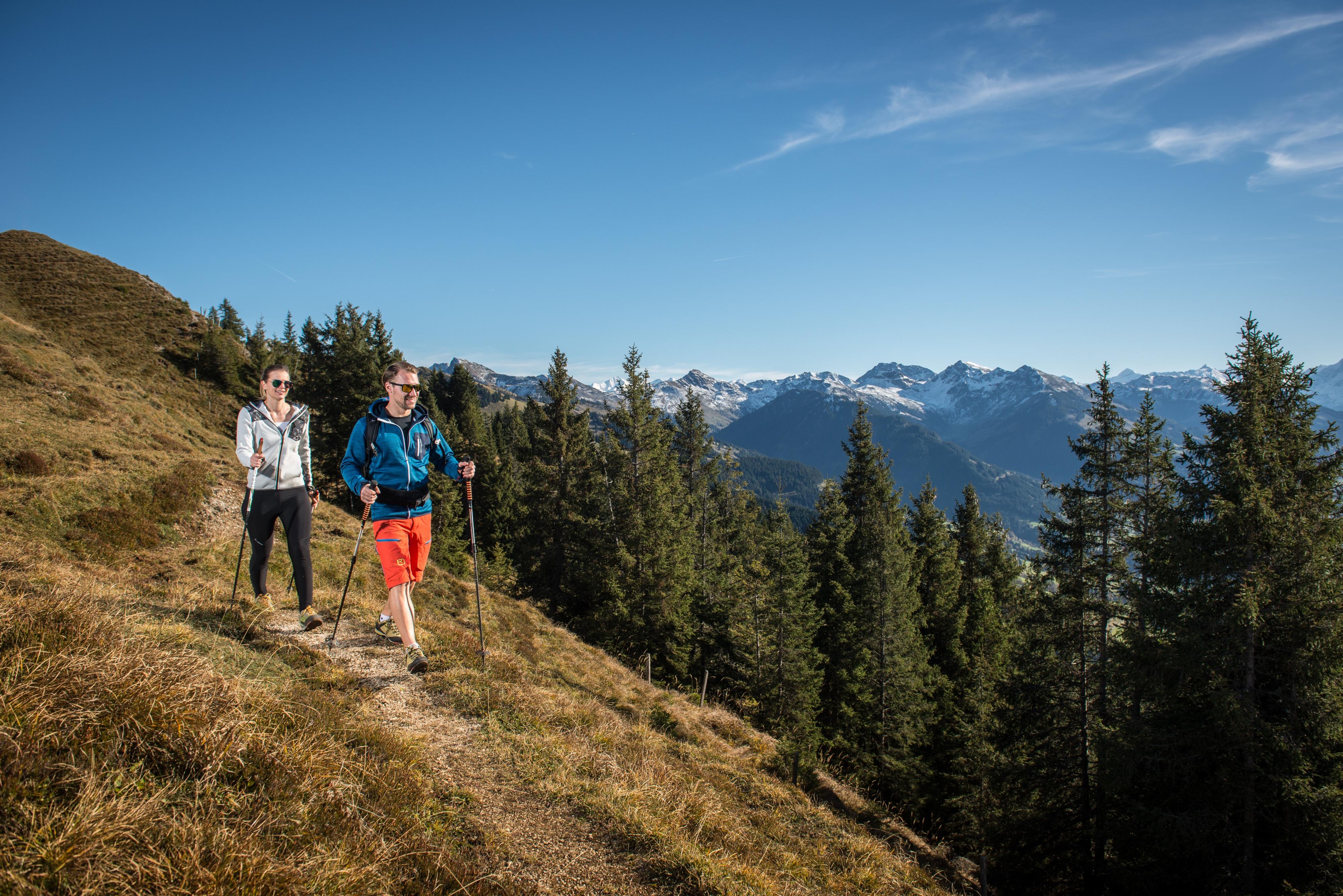 Wanderweg Berge Kitzbüheler Horn Ausflug