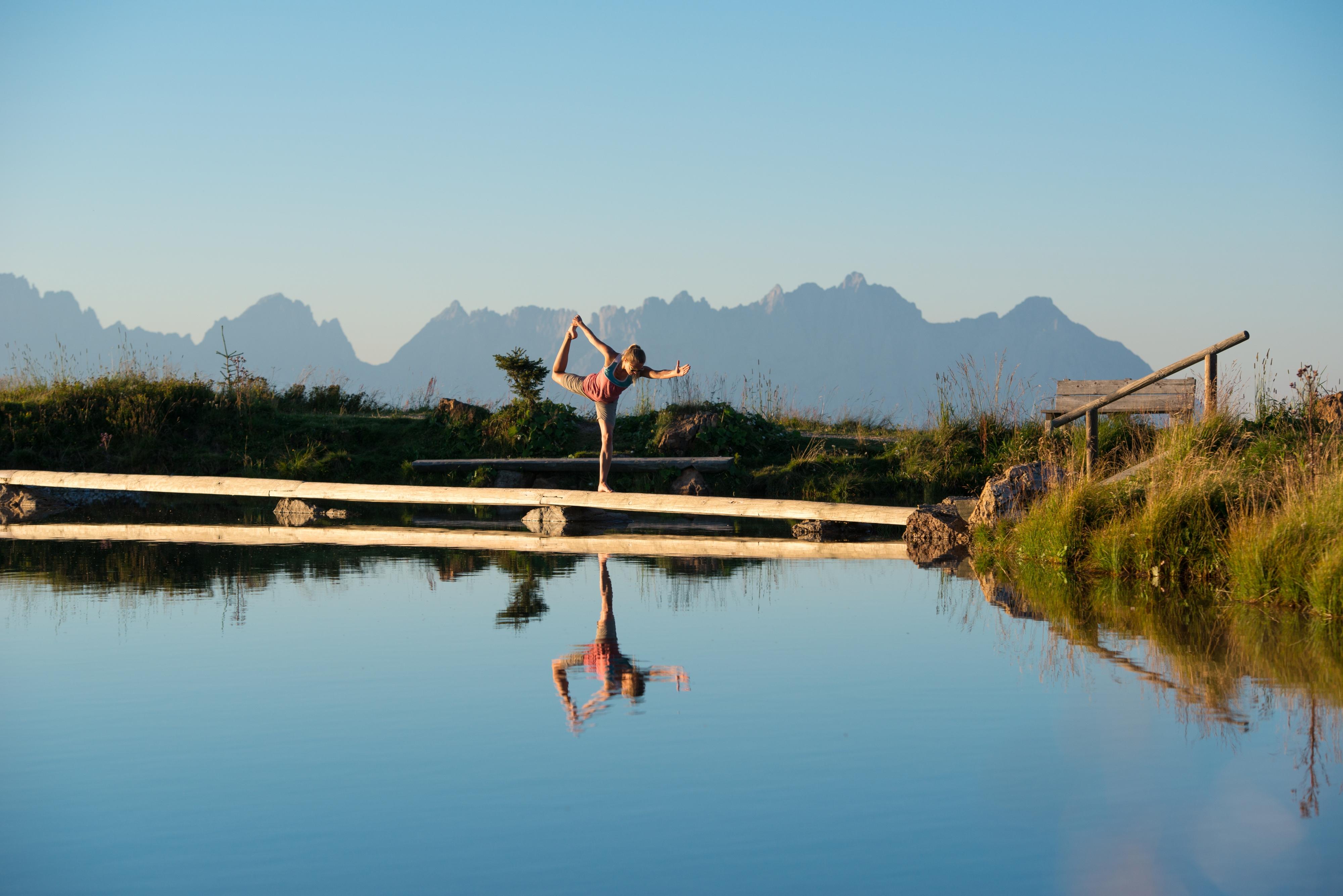 Sport Yoga am See Kitzbühel