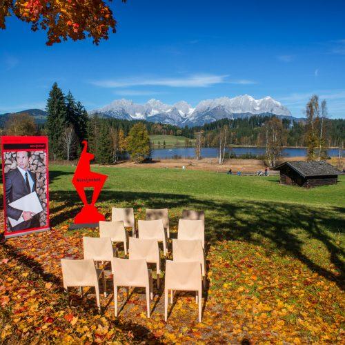 Konferenz Meeting am Schwarzsee