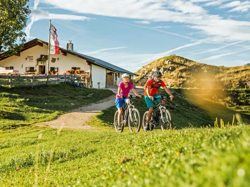 Mountainbiker Kitzbüheler Alpen