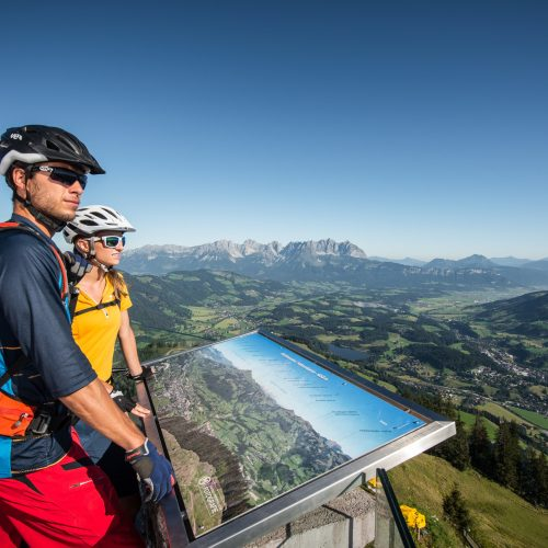 Fahrradtour Ausblick Panorama