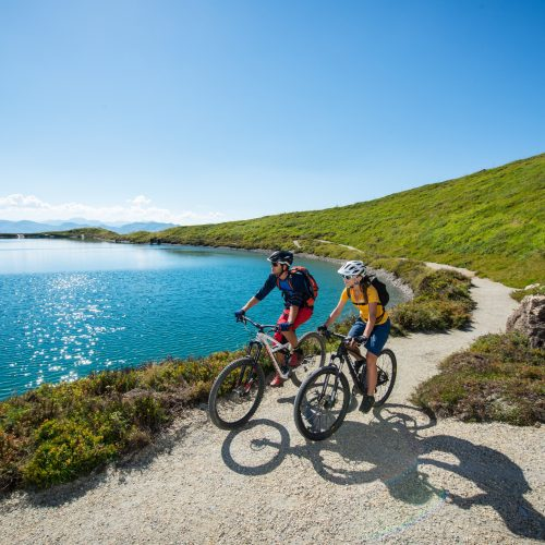 See Wasser Fahrräder Tour Ausflug Kitzbühel