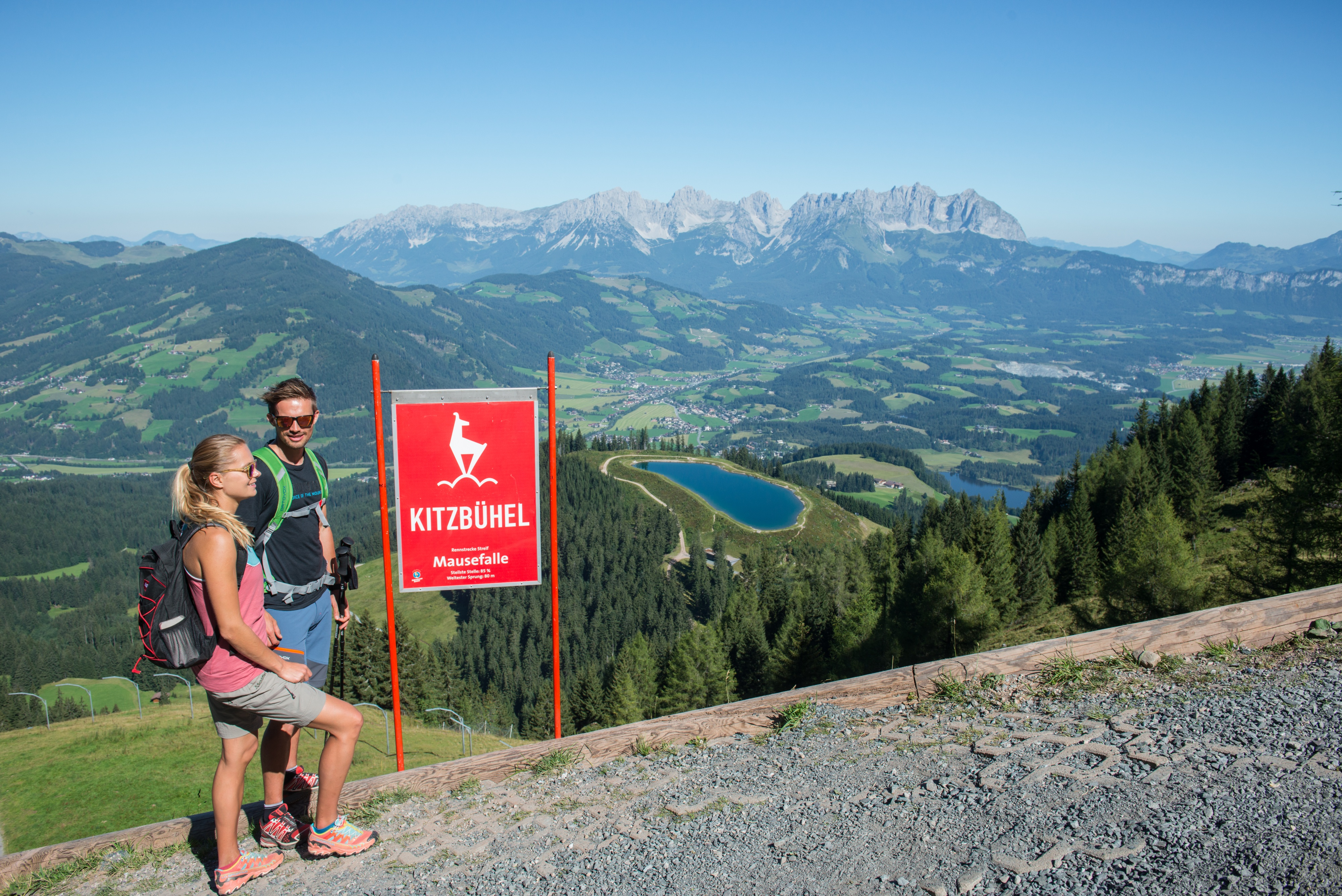 Streif Wanderung Kitzbühel MAusefalle Weg