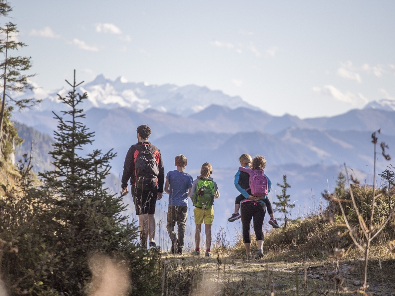 Familie Wanderung Pillerseetal