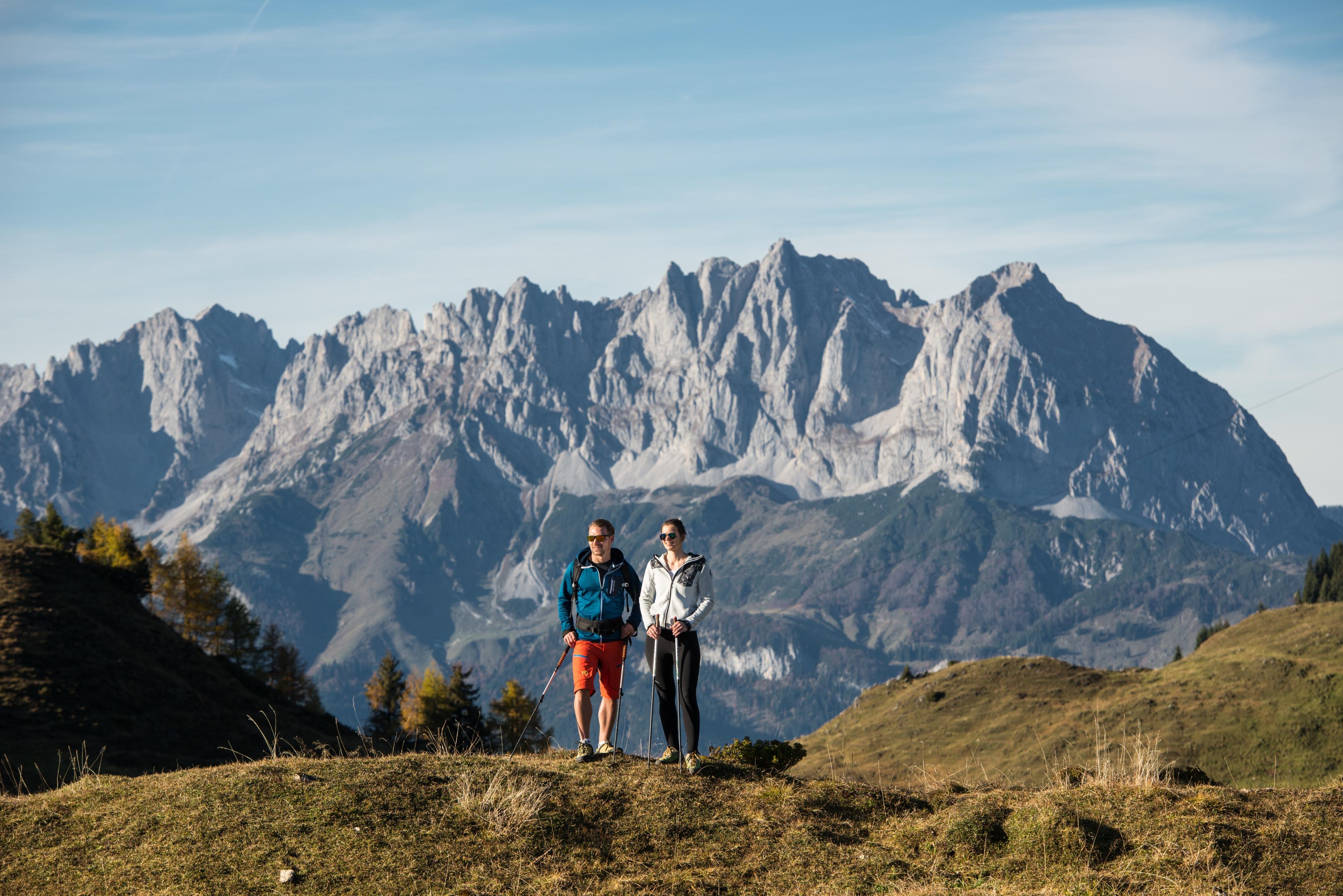 Kitzbüheler Horn Wanderung Paar