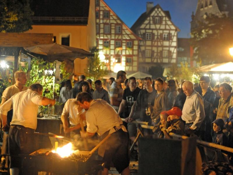 Altstadt Altdorf Festspielwochenende Nürnberger Land Kulisse