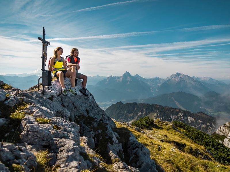 Watzmann Gipfel Wandern Berchtesgadener Land