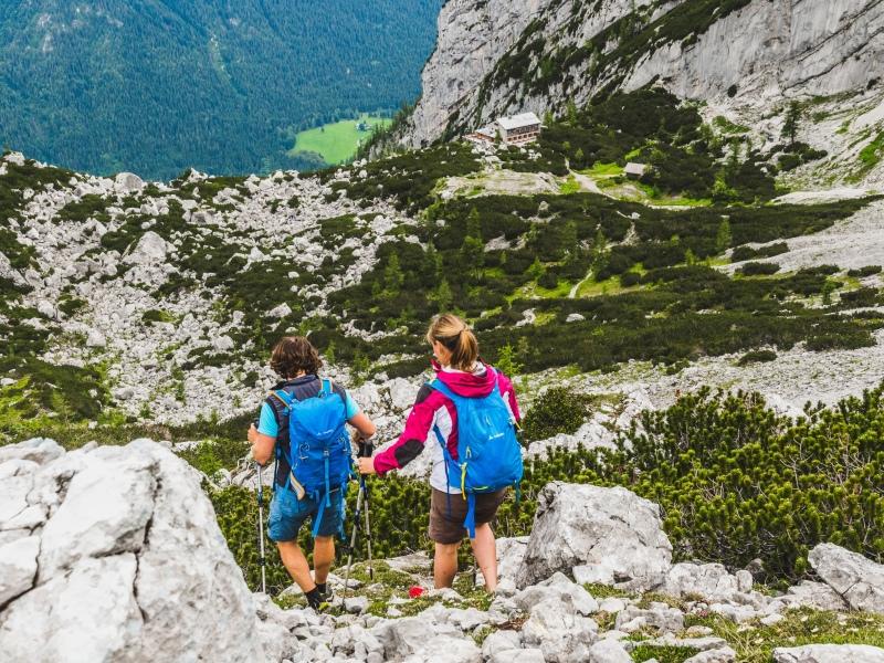 Watzmannhaus ready to go Angebot für Wandernovizen Berchtesgadener Land