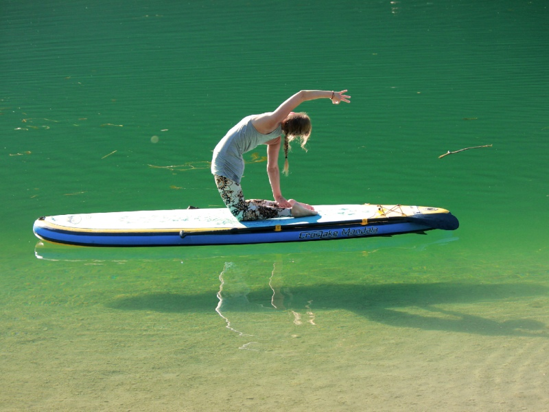 Pilerseetal Yoga See Stand Up Paddling