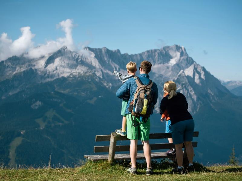 Familie Berg Aussicht