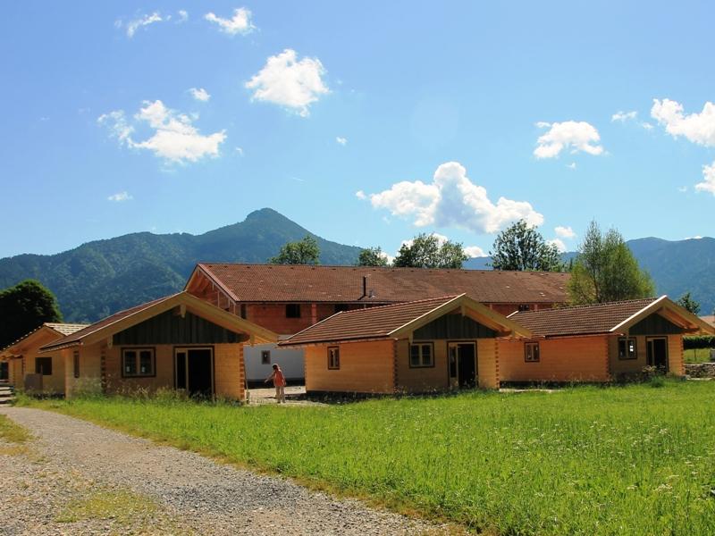 Hütten, Berge, Natur, Wiese